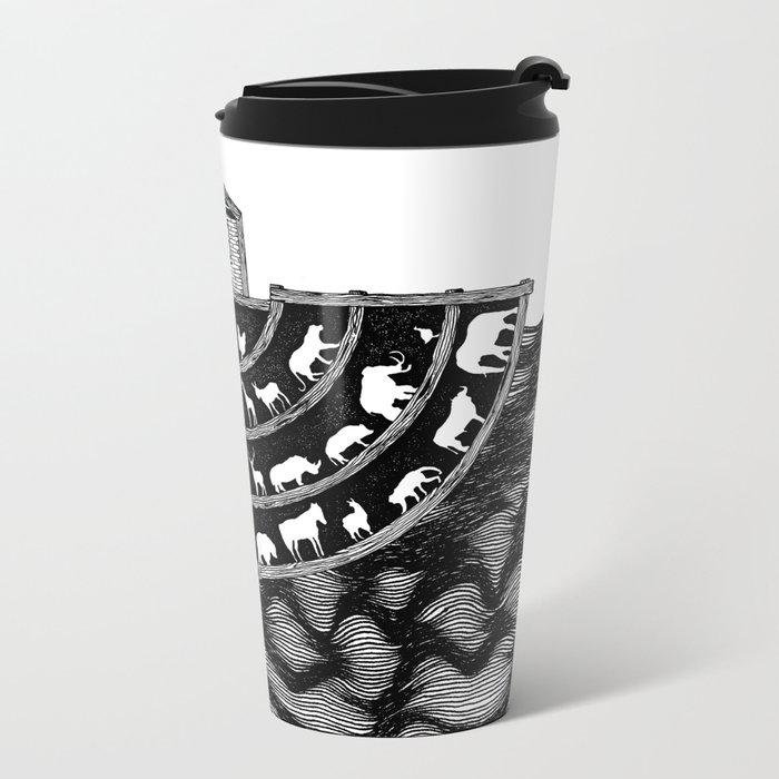 Noah's Ark Metal Travel Mug