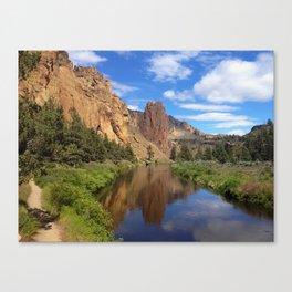 Smith Rock in Sun Canvas Print
