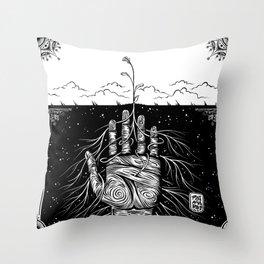Feed the Soil Throw Pillow