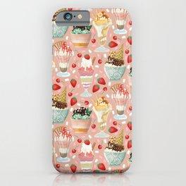 Sundae Daze iPhone Case