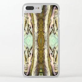 Bare Body Bending Clear iPhone Case