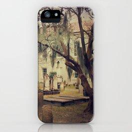 Charleston Circular Cemetery iPhone Case