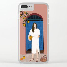 A Sweet Summer Clear iPhone Case