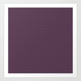 Organic Purple Art Print