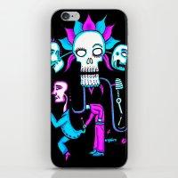dia de los muertos iPhone & iPod Skins featuring Dia de los Muertos by Ken Seligson
