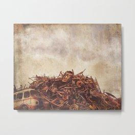 Junk  Metal Print