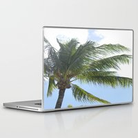 palm tree Laptop & iPad Skins featuring Palm Tree by Tasha Saussey