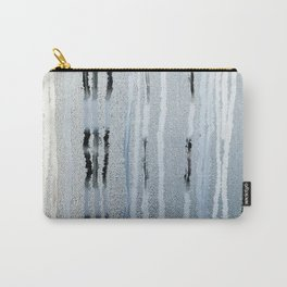 STRIPES BLUE Carry-All Pouch