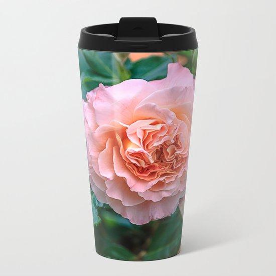 Beauty of a rose Metal Travel Mug
