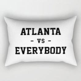 Atlanta Vs Everybody Rectangular Pillow