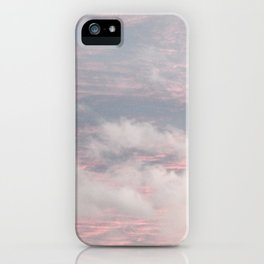 Cloud layers of Pink iPhone Case