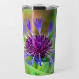 Cornflower in summer Travel Mug