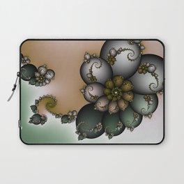 Trinket Flower Fractal Laptop Sleeve