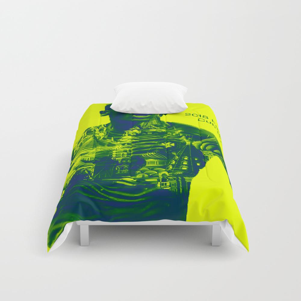 2018 Fifa World Cup Brazil Comforter by Gilmarmolero CMF8647391