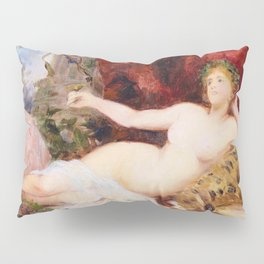 Resting Bacchantine - Digital Remastered Edition Pillow Sham