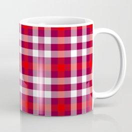 Sixth Doctor Red Waistcoat Tartan Coffee Mug