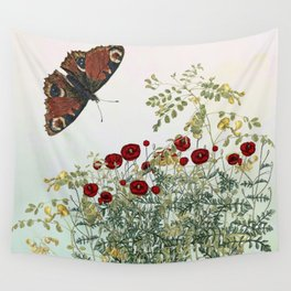 'Serenity only a deliberate hebitude' Wall Tapestry