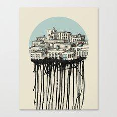 Primary City Canvas Print
