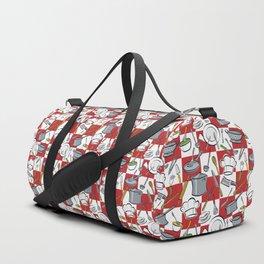 Kitchen Tools Check Duffle Bag