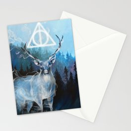 My Patronus is a Stag Stationery Cards