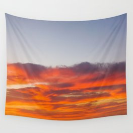 NEON SKY Wall Tapestry
