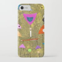 50s iPhone & iPod Cases featuring Retro Fantasy 50s by Beatrice Roberts