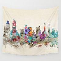 san diego Wall Tapestries featuring san diego california by bri.buckley