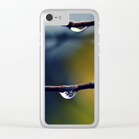 #22 Clear iPhone Case