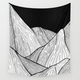 As The Mountains Rise Up Wall Tapestry