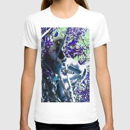 Sifaka in Purple T-shirt