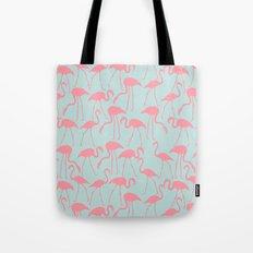 Cool Flamingos Pattern Tote Bag