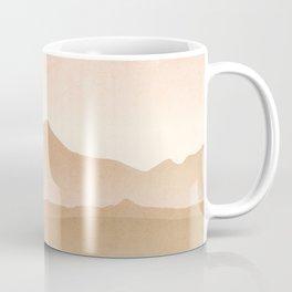 Mountain Galaxy Art Coffee Mug