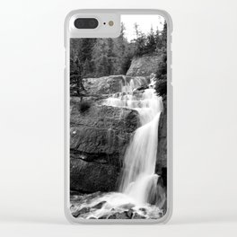 Before Nature Shall Claim Me Clear iPhone Case