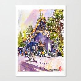 20160402 Wat Pho Canvas Print