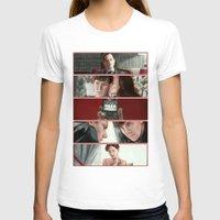scandal T-shirts featuring A Scandal in Belgravia by Alessia Pelonzi