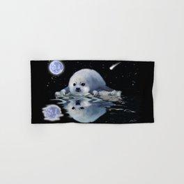 Destiny - Harp Seal Pup & Ice Floe Hand & Bath Towel