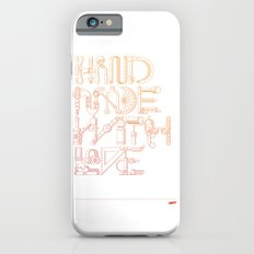 Hand Made With Love Slim Case iPhone 6s