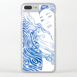 Water Nymph LXXVIII Clear iPhone Case