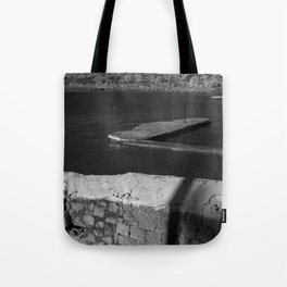 Old pier Tote Bag