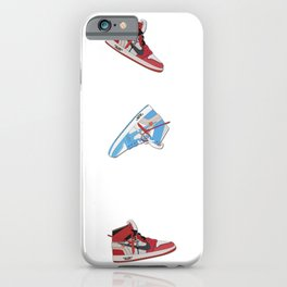 Jordan 1 Offwhites Pattern iPhone Case