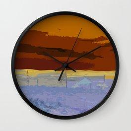 Beautiful Autumn Landscape Wall Clock
