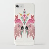 parrot iPhone & iPod Cases featuring parrot by Manoou