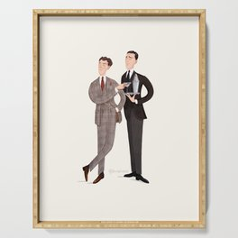Jeeves & Wooster Serving Tray