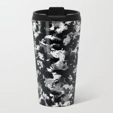 Shades of Gray and Black Oils #1979 Metal Travel Mug