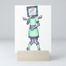Crush dot exe Mini Art Print