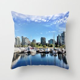 Sailing Club Throw Pillow