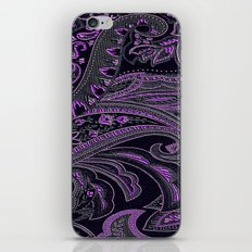 Paisley 10 Purple iPhone & iPod Skin