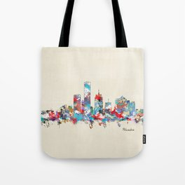 Milwaukee Wisconsin skyline Tote Bag