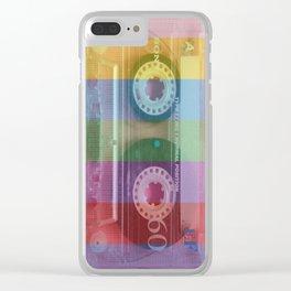 Cassette#tvcolor#VHS Clear iPhone Case