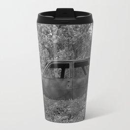 Camouflaged as she rests Travel Mug
